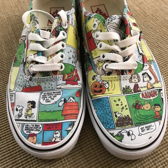 d08d738a9a6 VANS Peanuts Charlie Brown Shoes Men 8.5 Women 10.  M 5a2e919deaf030ff9e03bae0