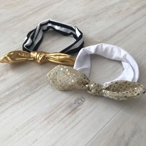 Other - Baby Girl Knotted Headbands