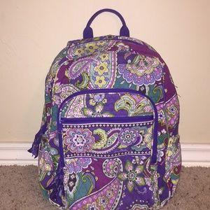 Heather Vera Bradley Backpack