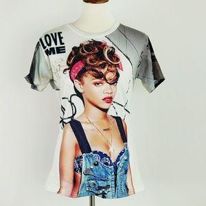 Rihanna Graphic Printed Tshirt