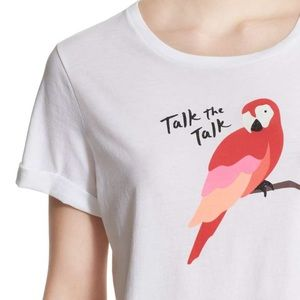 """Kate Spade """"Talk the Talk"""" Top Size XL"""