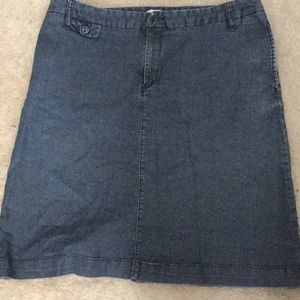 Merona Denim Skirt Size 14