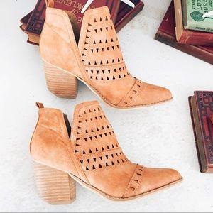 Shoes - Laser cut booties