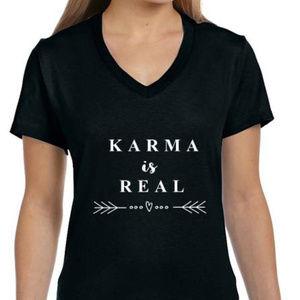 Karma custom made t-shirt sample