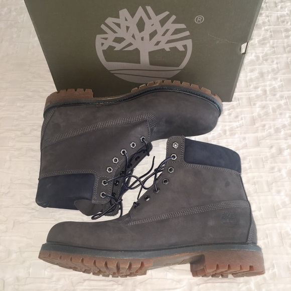 Dark Gray Timberland Boots New in Box NWT