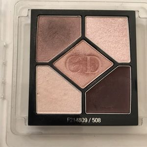 5 color Christian Dior designer eyeshadow