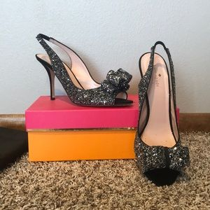 Kate Spade Charm party shoes size 10