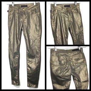 Rock & Republic Gold Bronze Jeans Pants