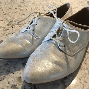 MIA Silver Shoes (never worn)