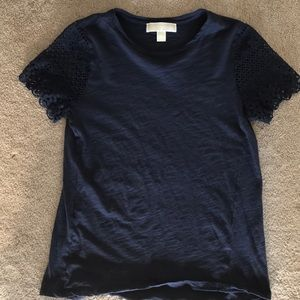 Michael Kors t shirt with lace