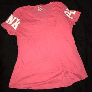Size large Pink shirt