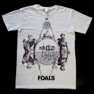 Limited edition FOALS tee