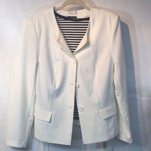 Super nice little white blazer