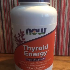 NOW Thyroid Energy Support Pills Capsules