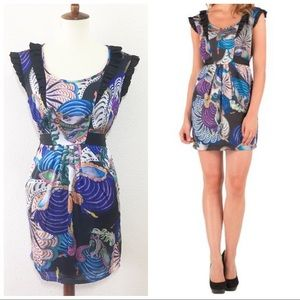 NWT TED BAKER carousel Iveta dress with pockets 6