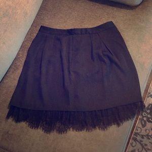 Black lace skirt/ never worn