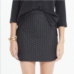 Madewell•Nightfall Jacquard Miniskirt