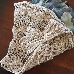 Gorgeous Crocheted Shawl/Wrap