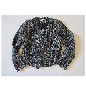 CAbi over the moon mockingbird wool/tweed jacket