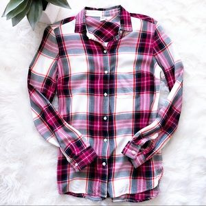 Old Navy Relaxed Soft-Washed Classic Plaid Shirt