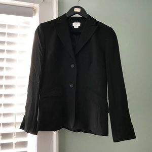 Ann Taylor LOFT wool suit jacket and skirt