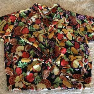 My favorites vintage silk blouse