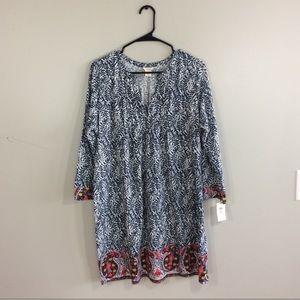 Lucky Brand NWT Slub Jersey Tunic Dress