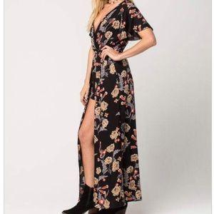 Angie maxi dress romper