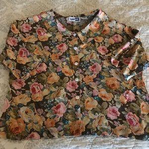 Feminine vintage blouse