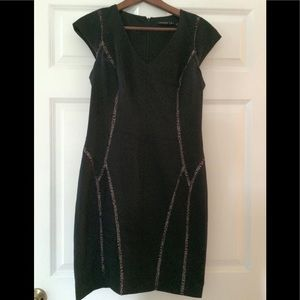 Ivanka Trump Black cocktail dress