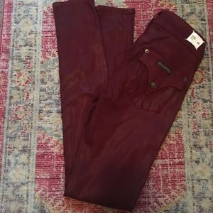 Hudson Colin mid rise skinny jeans size 26