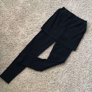 NWOT Black Skirt with built in leggings!