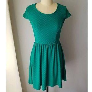 Xhilaration Green Dress