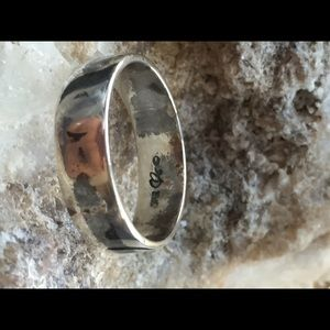 925 Sterling Silver Carolyn Pollack Band Ring #1