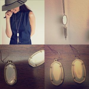 Kendra Scotta matching Necklace and Earrings