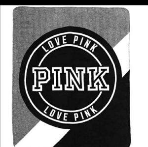 Victoria's Secret PINK fleece blanket