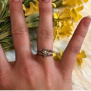 Reversible Diamond Ring