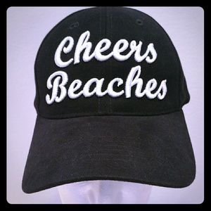 Cheers Beaches embroidered cap