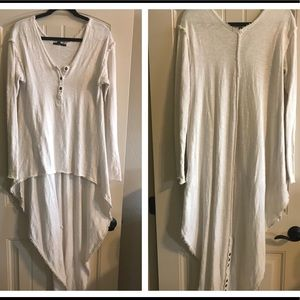 Urban outfitters hi/lo thermal shirt top