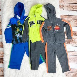 3 Baby Boy Jogging Suit Sets