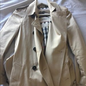 Burberry cotton Westminster trench