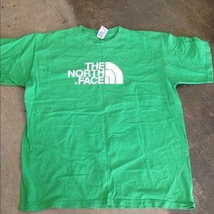 North Face men's L tee shirt