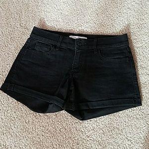 A&F midi jeans shorts