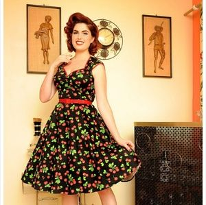 Pinup Girl Clothing Heidi Swing Dress