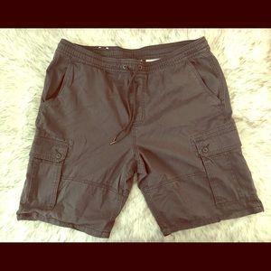 NWOT Mossimo Drawstring Cargo Shorts
