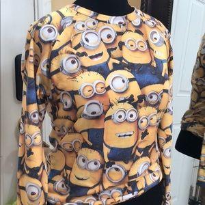 Tops - Despicable Me Printed Shirt -Sz L