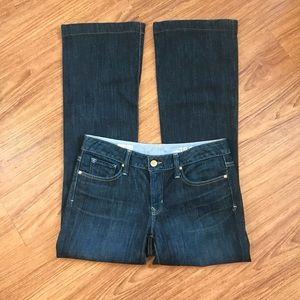 GAP 1969 Long & Lean Jeans 6R Dark Wash Boot Cut