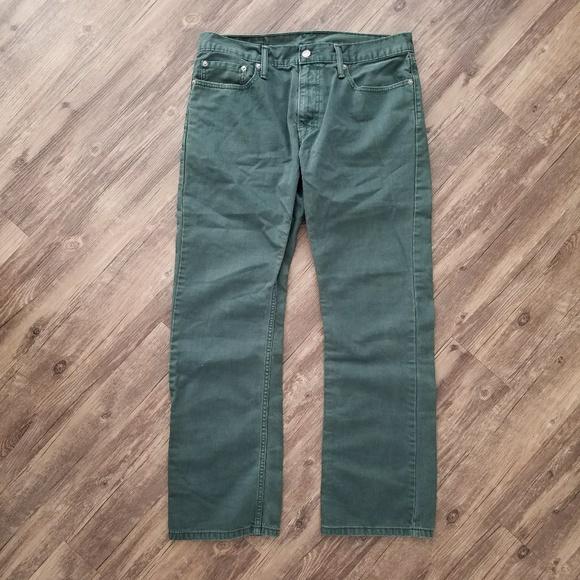 dirt cheap newest online shop Levi's Jeans | Mens Levis 514 Green 34 30 | Poshmark