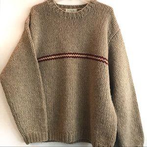 J. Crew Handknit Sweater Men's XL