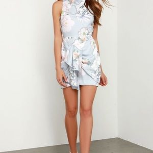 Finders Keepers Floral Wrap Dress